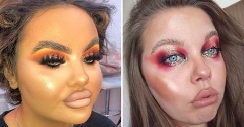 15+ прекрасных дам после макияжа, которых визажисты не украсили, а испортили