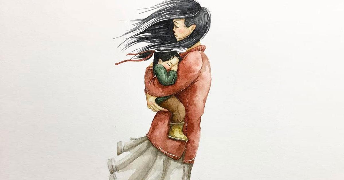 «Маме» — стихотворение вместо тысячи слов