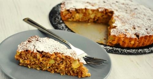 Полезный и вкусный яблочно-овсяный пирог без вреда для фигуры