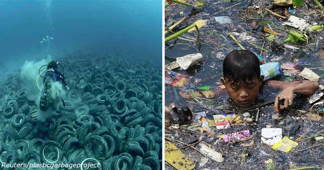 17 мощных изображений, показывающих последствия перенаселения планеты