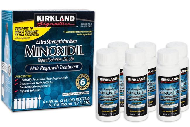 Средство для отращивания бороды - миноксидил