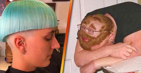 Непонятно, но смешно! 19 нелепых и забавных случаев, когда парикмахеры выполнили все их капризы