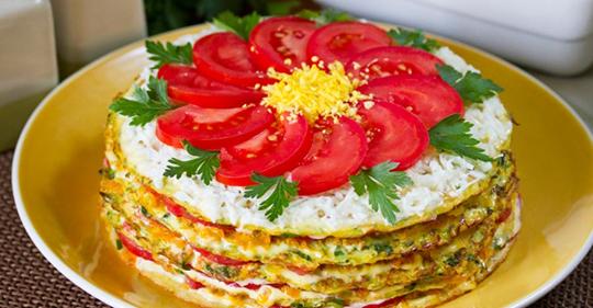 Торт из кабачков украсит любой стол: прекрасный рецепт