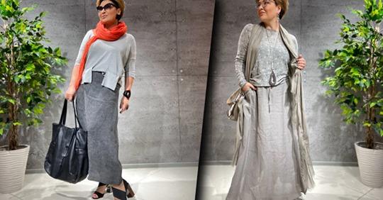 Стильные образы для женщин 45+: как носить оригинальные юбки-брюки?