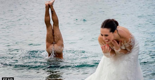 26 шикарных снимков с конкурса на лучшую свадебную фотографию