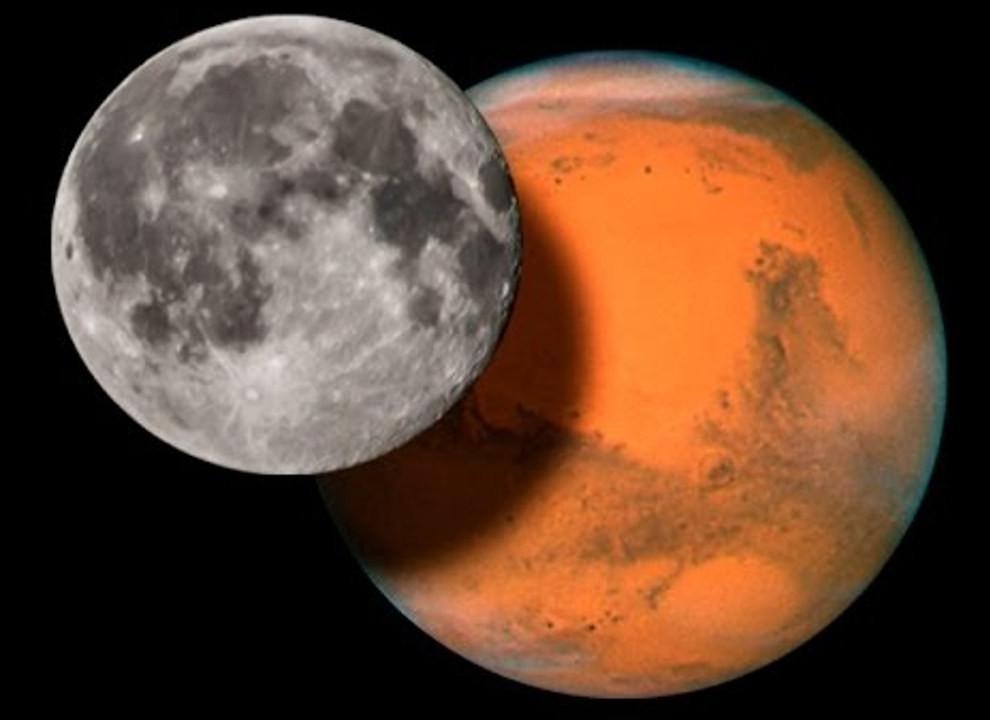 Оказывается, защититься от радиации на Луне и Марсе достаточно просто: человеку надо забуриваться на глубину больше 70 см
