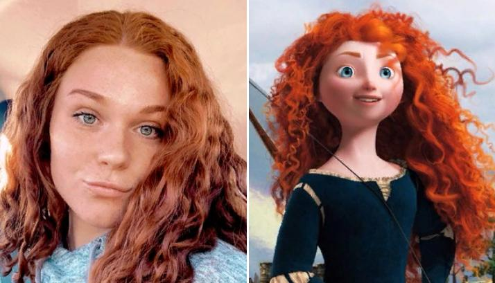 Люди, которые очень похожи на персонажей мультфильмов, делятся своими фотографиями: сходство впечатляет