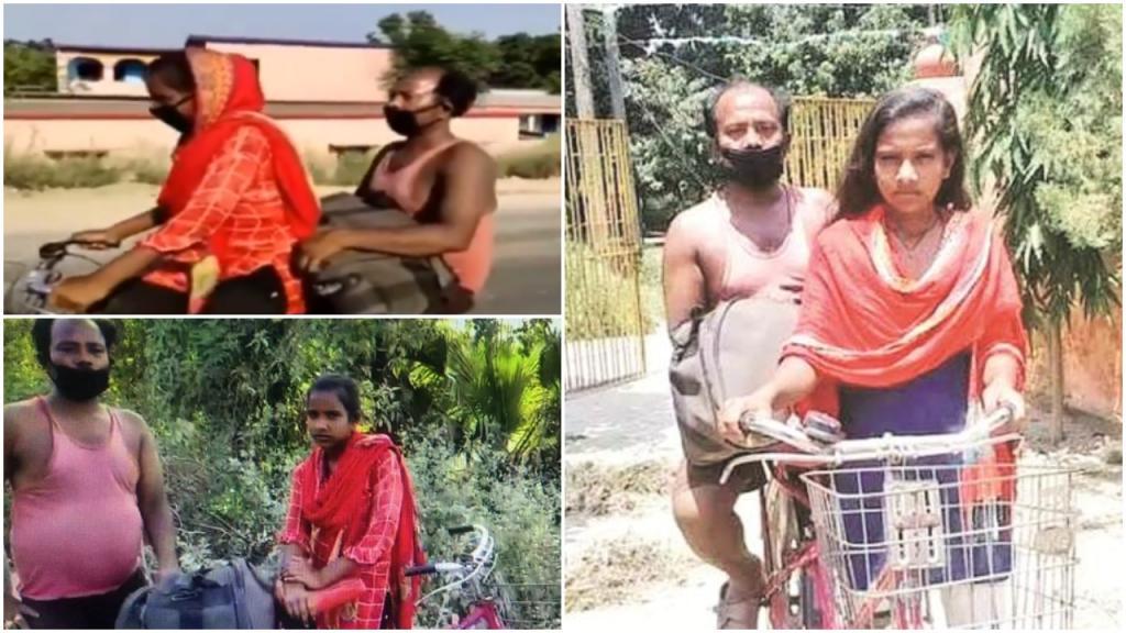 «Путешествие мигранта»: индийская девушка, проехавшая 1200 км на велосипеде с отцом, сыграет себя в фильме
