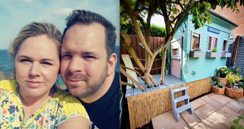 Семья из шести человек создала невероятный игровой домик для детей: в таком и жить можно
