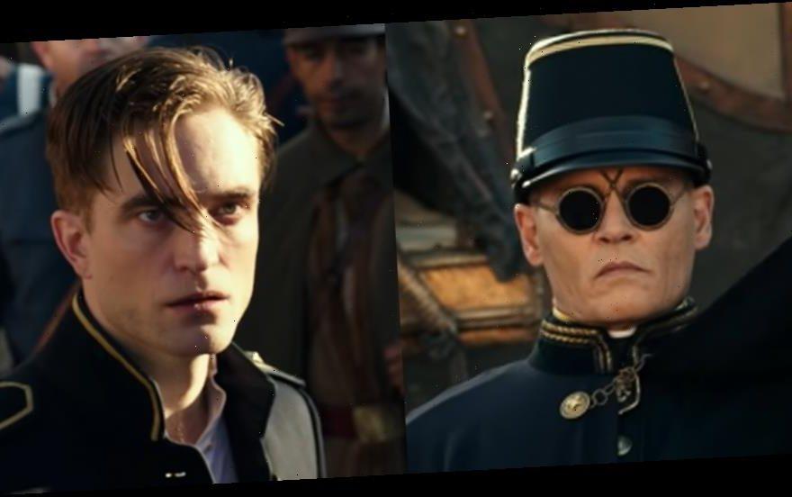 """Пока """"Бэтмен"""" задерживается, в июле выходит колониальная драма """"В ожидании варваров"""" с Робертом Паттинсоном: противостоит ему Джонни Депп в """"зловещих"""" очках"""
