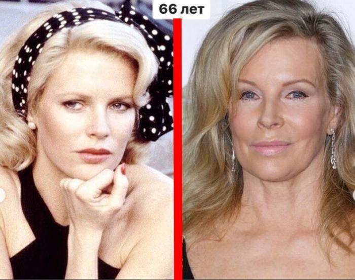 Уже за 60: как сегодня выглядят зарубежные актрисы, которых боготворили миллиарды зрителей (Ким Бейсингер, Вероника Кастро и еще 8 звездных женщин)