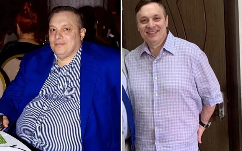 Продюсер Ласкового мая Андрей Разин раскрыл секрет похудения на 43 килограмма: перешел на селедочку