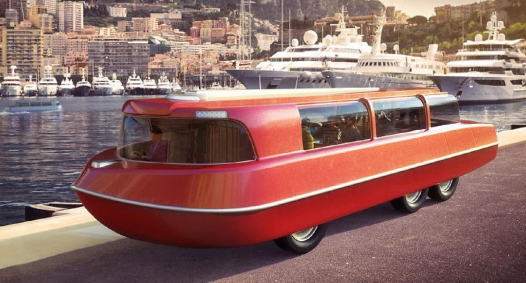 Будущее местами переоценили: дизайнеры, живущие в 1900-х, показали, как они представляли себе отдых в 2020 году