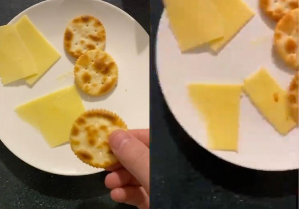 Увидев, как муж режет сыр без ножа, удивилась, но теперь сама часто так делаю