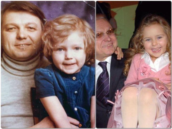 Инна и Стефания Маликовы показали свои детские снимки, где они как близнецы, и трогательно поздравили Юрия Маликова с днем рождения