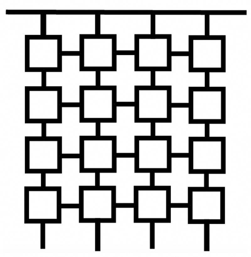 Как самостоятельно сделать для сада декоративную решетку: простой способ