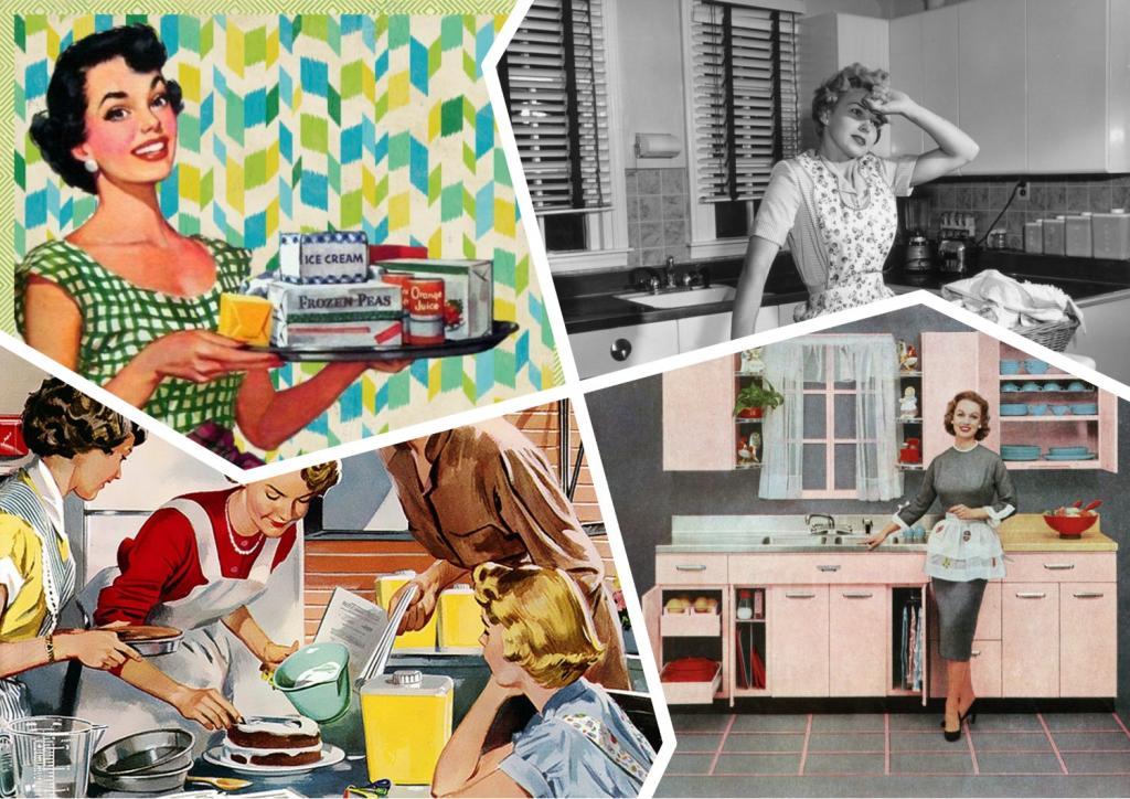 График уборки домохозяйки 1950-х годов: как он выглядел и почему стирка намечалась на вторник
