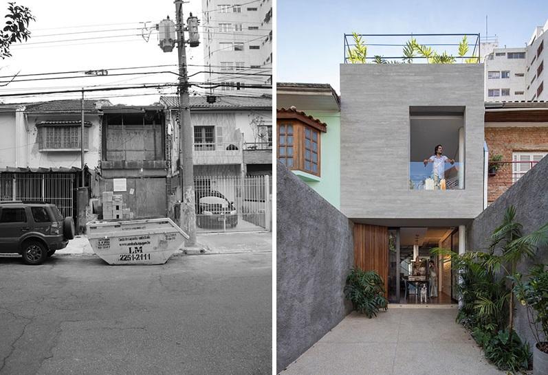 Раньше прохожие боялись взглянуть на неказистый домик Бразилии: теперь завистливо оглядываются (фото до и после ремонта)