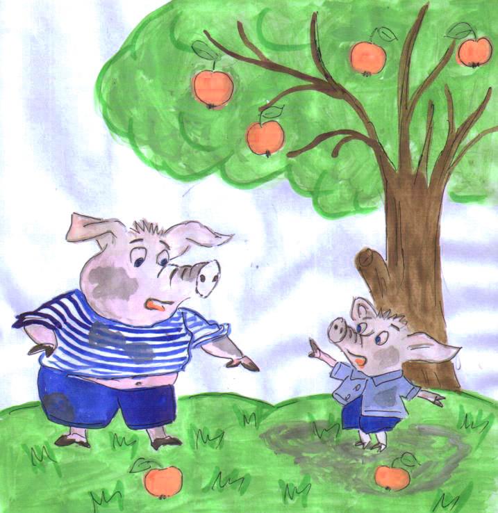 Яблоко от яблони недалеко падает...: узнав продолжение пословицы, я стала относиться к ней по-другому (а раньше только упрекала этой фразой людей)