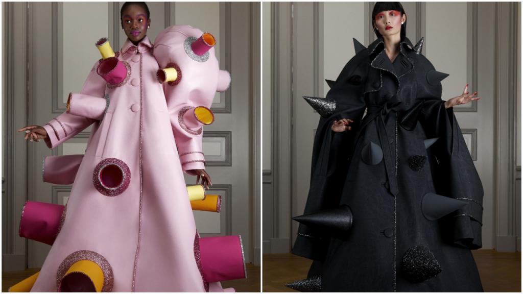 Viktor & Rolf представили миру самую лучшую одежду для социального дистанцирования