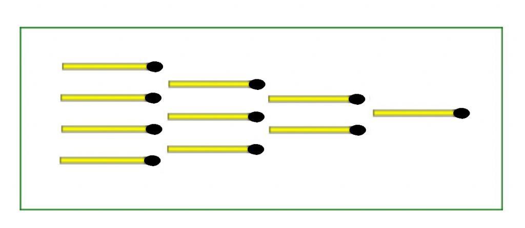 Решить 3 задачки менее чем за 5 минут: нужно всего лишь переложить спички