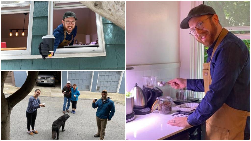 «Они это заслужили!»: из окна своей кухни мужчина каждое утро раздает бесплатный кофе соседям