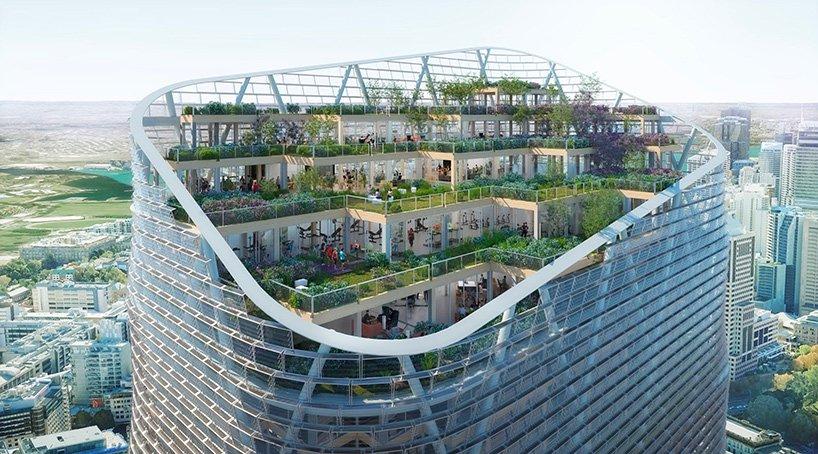 В Сиднее планируют построить самое высокое здание из дерева. В фасад будут встроены солнечные батареи (фото)