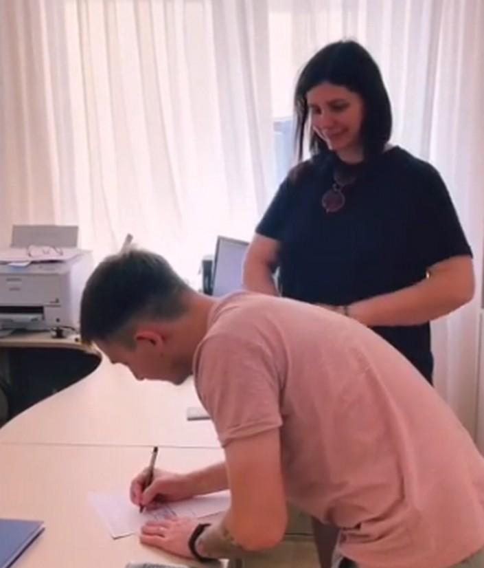 Беременная Марина Балмашева узаконила отношения со своим пасынком: фото регистрации брака