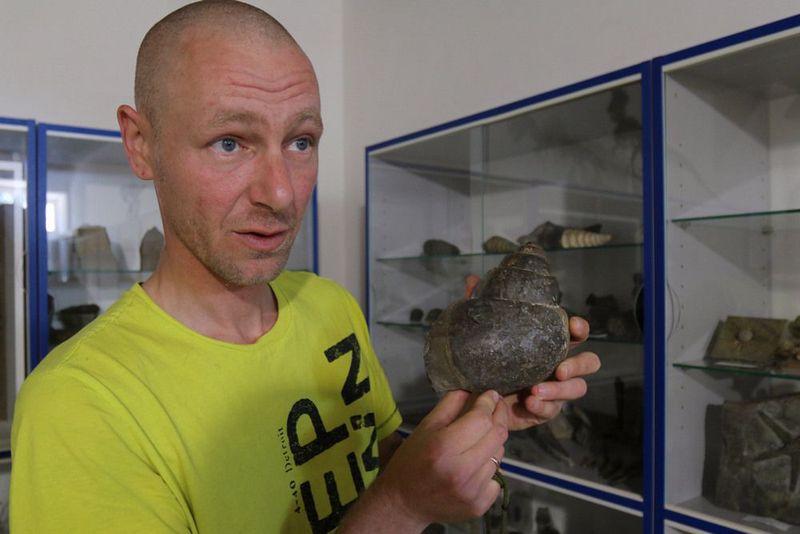 Крым юрского периода: житель Ялты, который с детства собирал древние окаменелости на морском берегу, открыл собственный музей