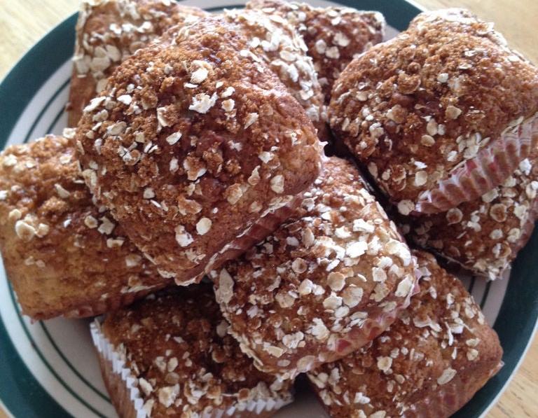 Вкусные и полезные кексы, которые наполняют энергией: рецепт с бананами, творогом и овсянкой
