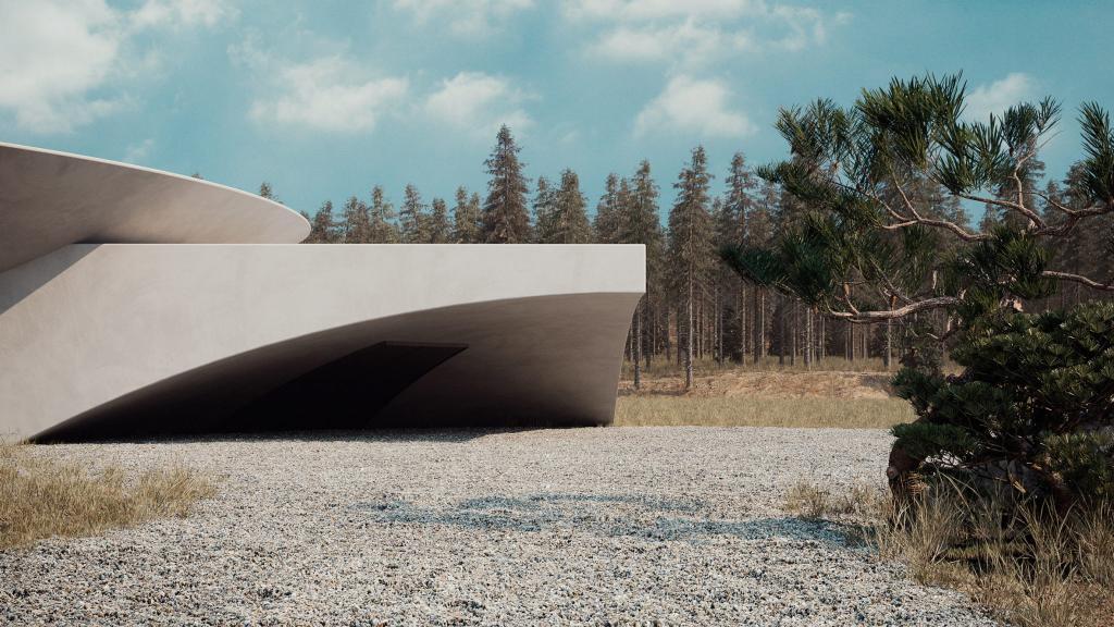 На случай кризиса: дизайнеры придумали дизайн подземного бункера, который смог бы стать еще и уютным жилищем