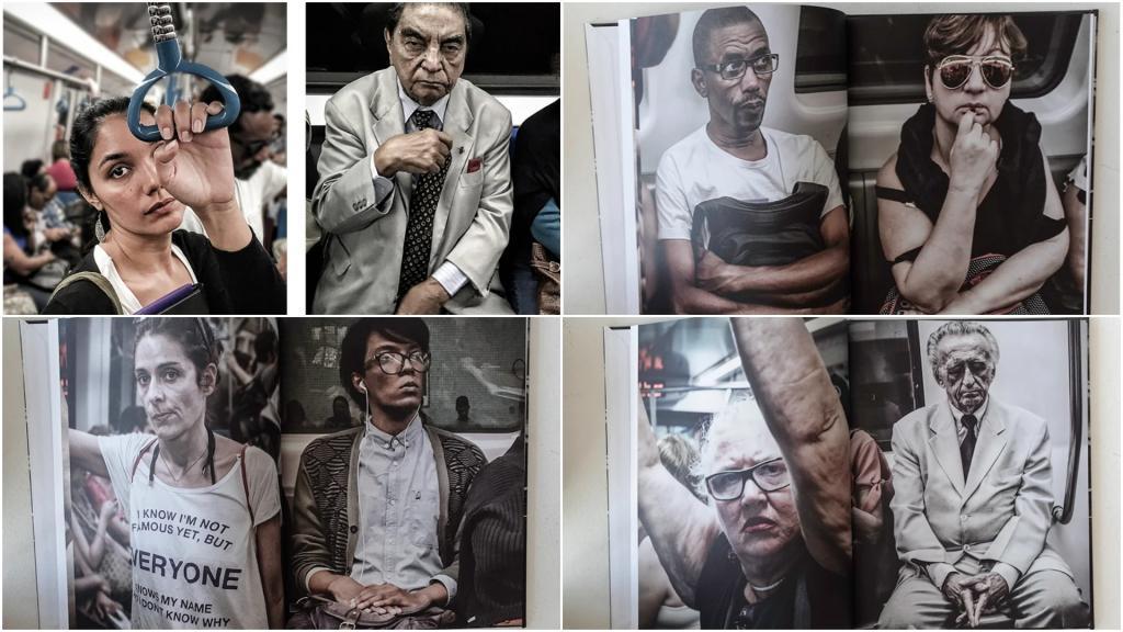 Два года мужчина снимал людей в метро Рио-де-Жанейро: пассажиры и не догадывались, что их фотографируют
