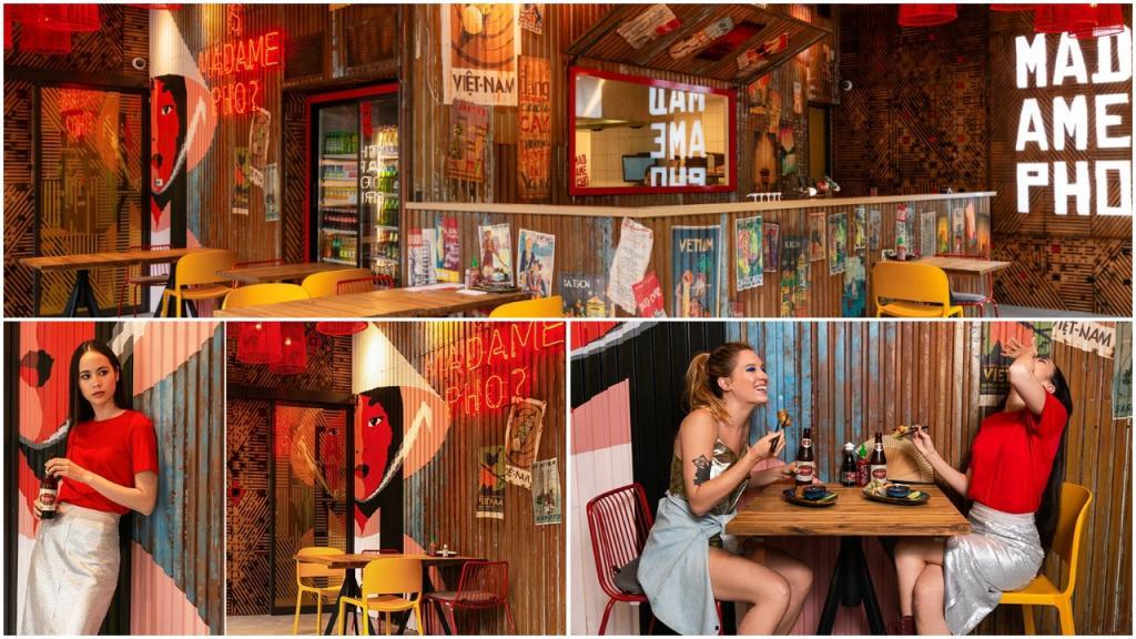 Семейный ресторан: хозяйка добавила цвета и текстуры Вьетнама в деловой квартал Будапешта