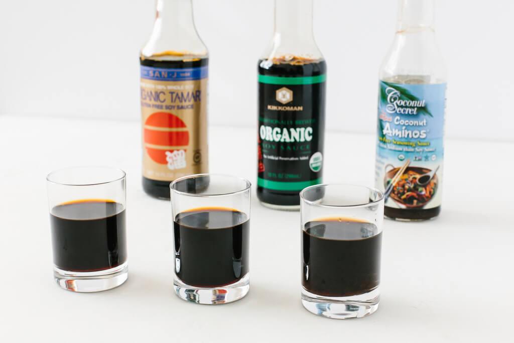 Соевый соус, тамари и кокосовые аминокислоты: в чем разница?