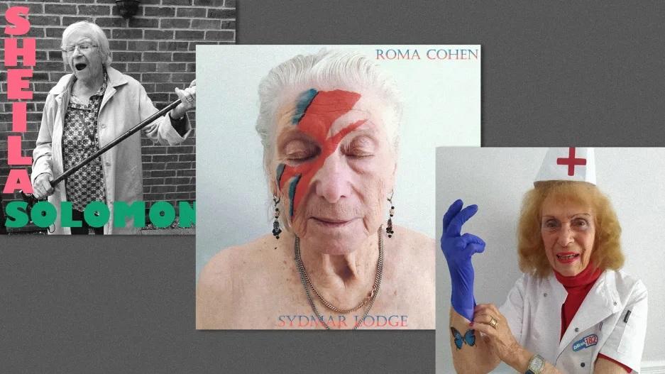 Жители английского дома престарелых сделали крутые фото, воспроизводящие обложки культовых музыкальных альбомов. Они превратились в Майкла Джексона, Мадонну и других звезд