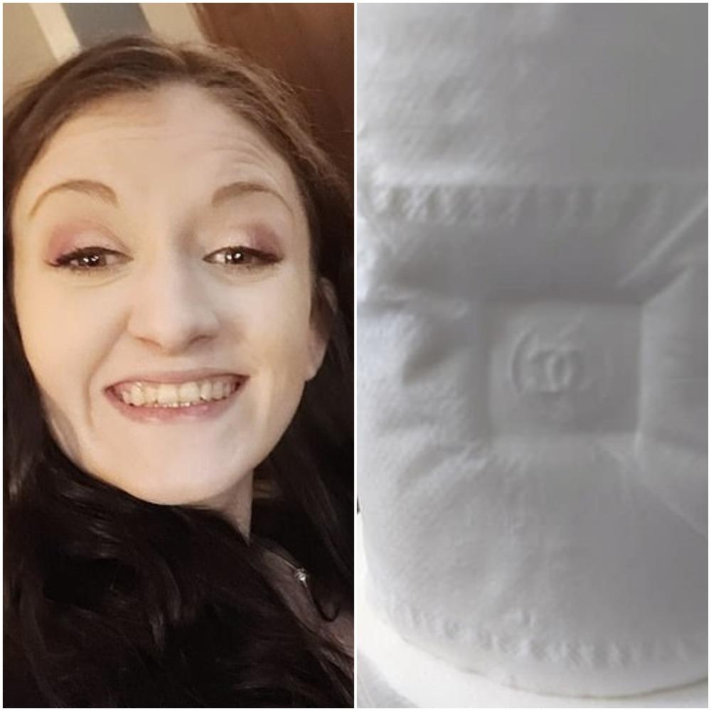 Изобретательная женщина взяла рулон туалетной бумаги и приложила к нему колпачок от помады: вышло очень стильно