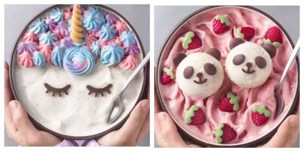 У вашего малыша нет аппетита? Такие десерты его точно привлекут. Подросток делает изумительно красивые блюда