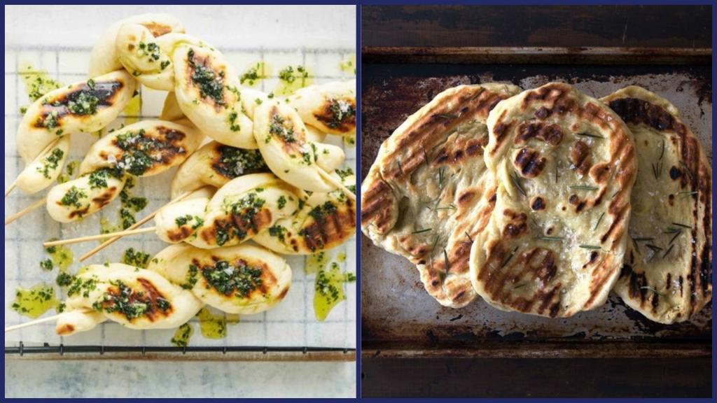 Я на мангале не только готовлю мясо и овощи, но и хлеб пеку. Он разлетается так же быстро, как и сам шашлык (рецепты)