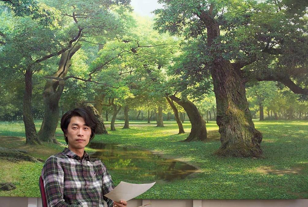 Гиперреалистичные пейзажи от художника из Кореи