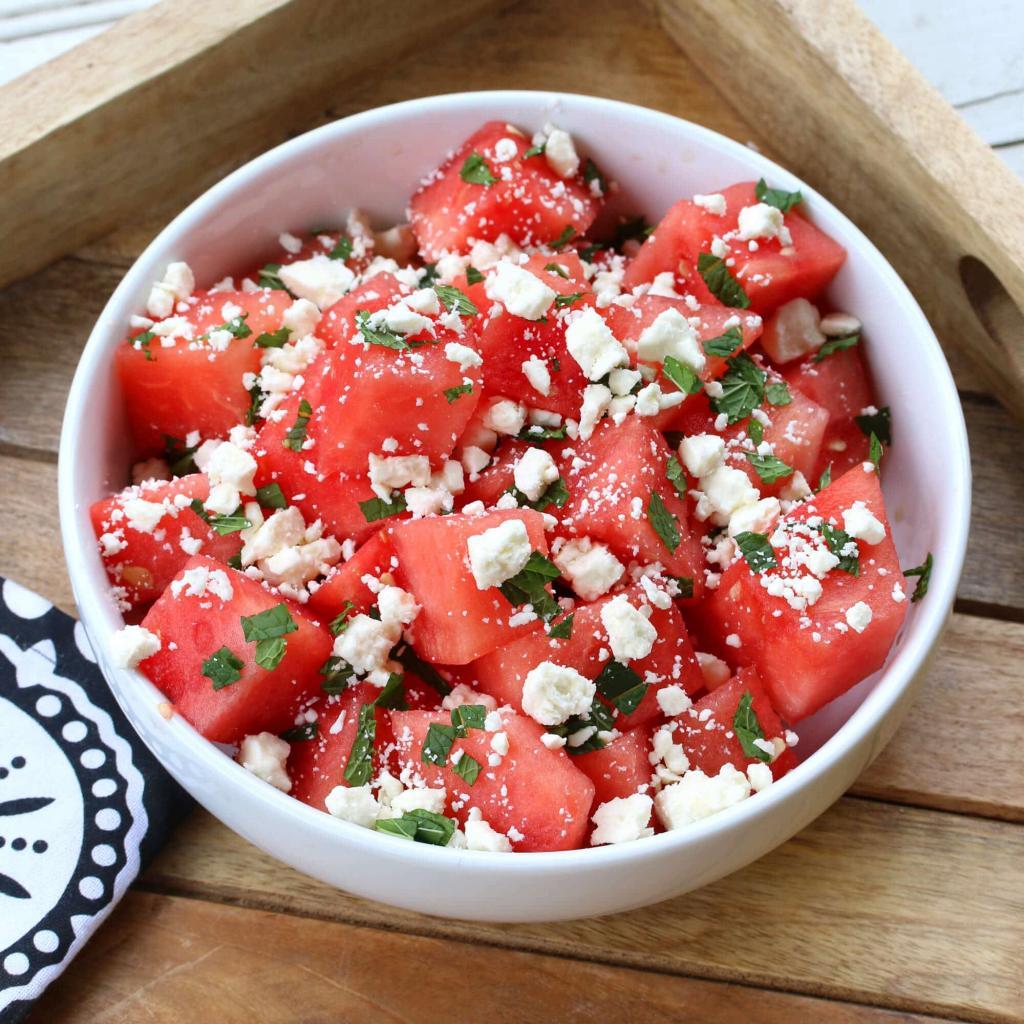 Готовлю друзьям освежающий салатик, нравится всем: рецепт с фото