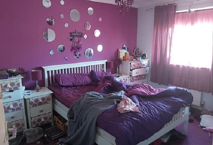Спальня женщины была слишком яркой. Она изменила интерьер и стала высыпаться