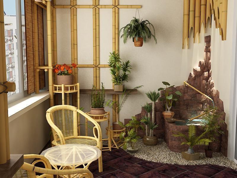 Моя подруга сделала на балконе сад в японском стиле: она рассказала о растениях и символике