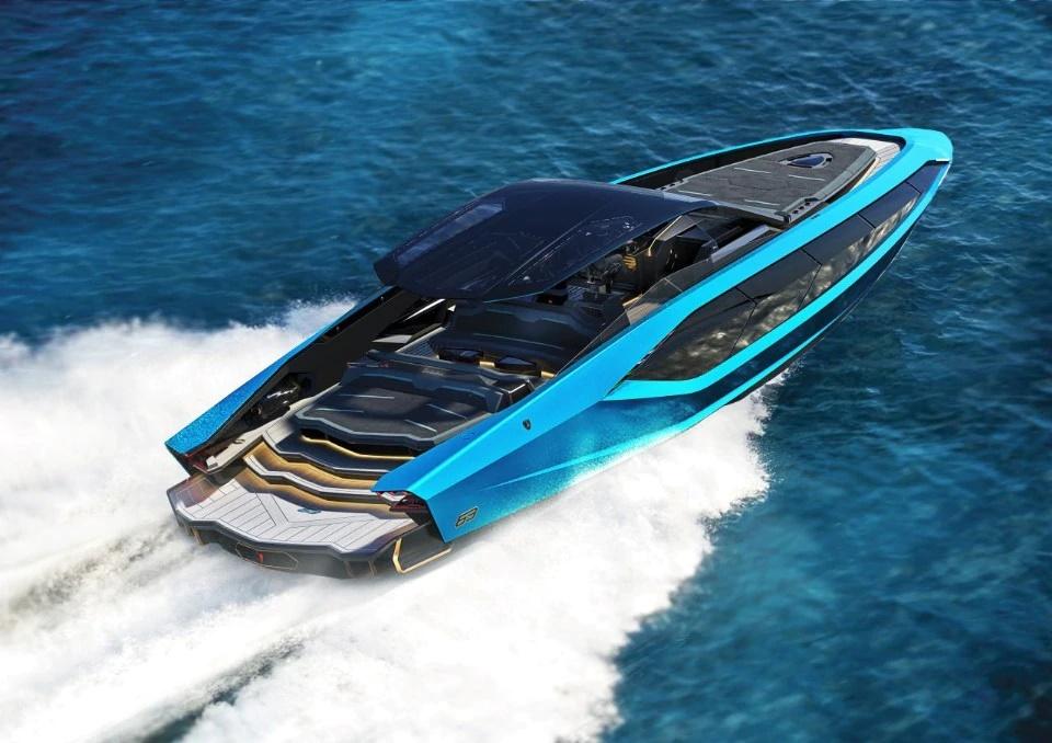 Новая моторная яхта Lamborghini 63: на воде, как в спортивной машине, или суперкар и море