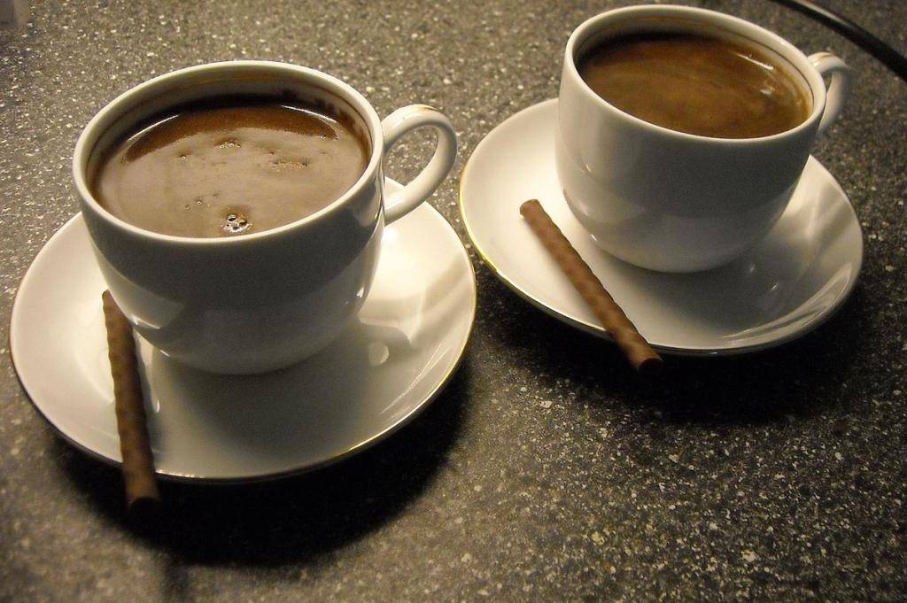 Сколько калорий дает кофе с молоком? Я перешла на черный кофе и больше у меня нет проблем с фигурой