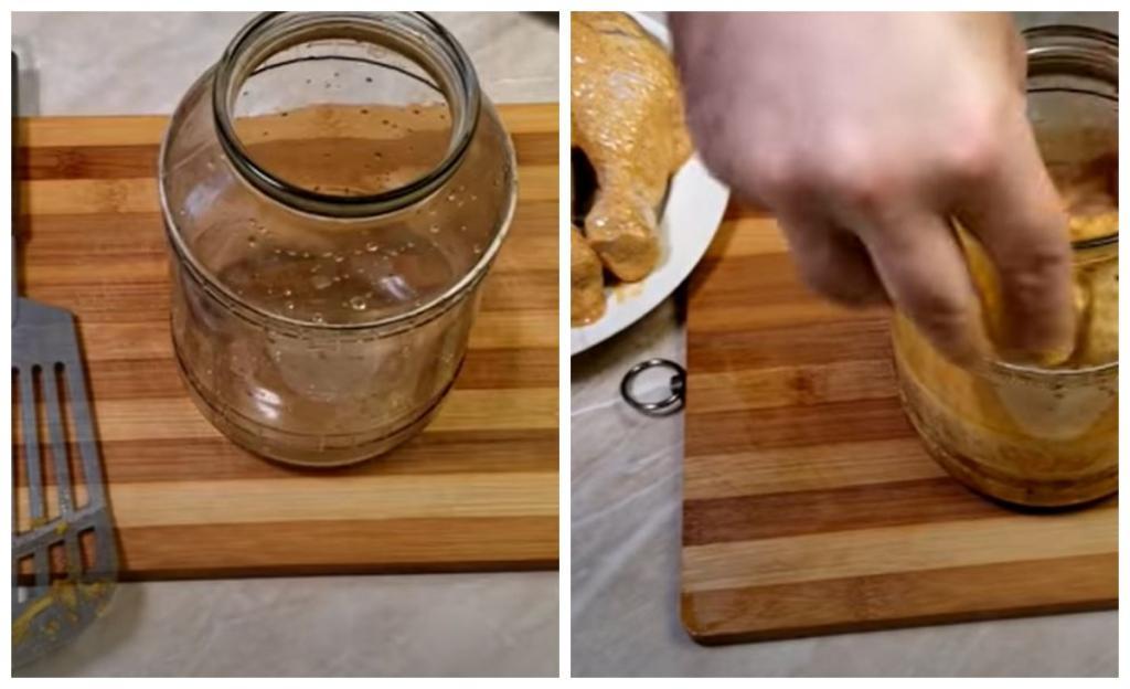 Мужчина приготовил рис и голени в стеклянной банке: самый необычный ужин, который я видела. Обязательно повторю на днях