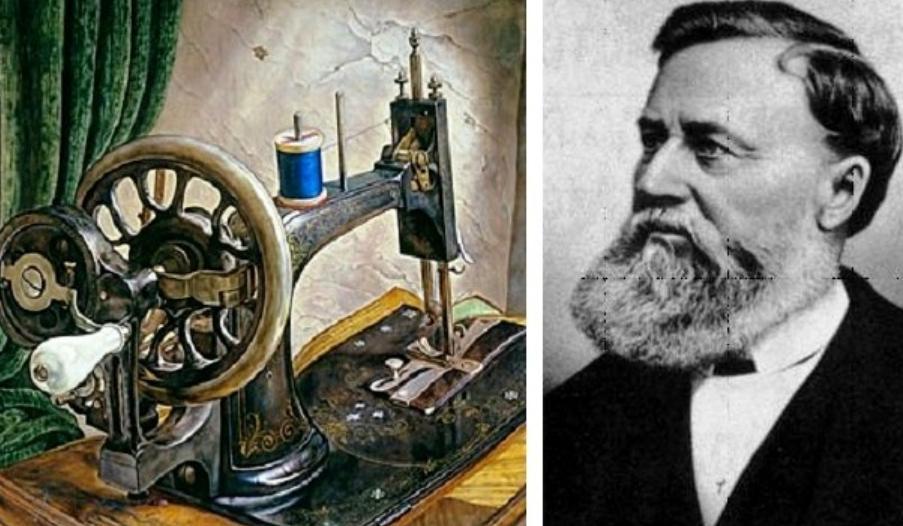 Иглы изготавливались из слоновой кости: 12 августа, 169 лет назад, появилась запатентованная швейная машинка