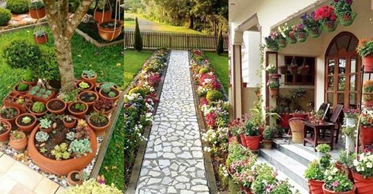 Дачный рай своими руками: 20+ идей креативных цветников
