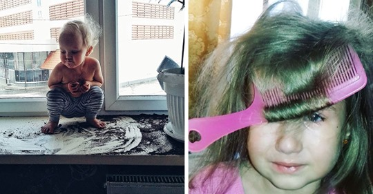 15 фотографий, которые показывают, какова цена за 5 минут тишины в доме, где живёт маленький ребёнок