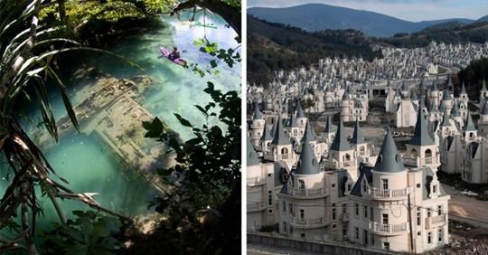 16 зловещих фотографий заброшенных мест, которые без присутствия людей стали только атмосфернее