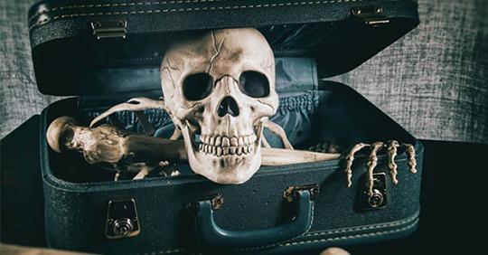 В аэропорту Мюнхена в багаже пассажирки нашли скелет ее покойного мужа